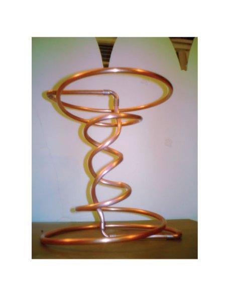 Celestine's phi ratio coil