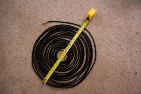 18 inch diameter insulated copper tubing spiral
